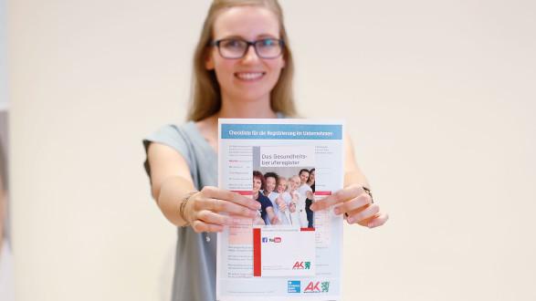 Die AK Steiermark ist Registrierungebehörde für das Gesundheitsregister. © Graf-Putz, AK Stmk
