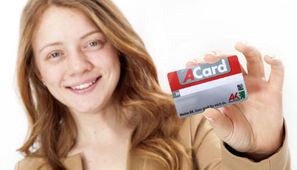 Unterstützung und Bonus mit der ACard © sebra, adobestock, AK Stmk