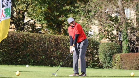 45 Zweier-Teams aus 25 Betrieben traten beim Golfturnier in Frauental gegeneinander an. © Kacherl, AK Stmk