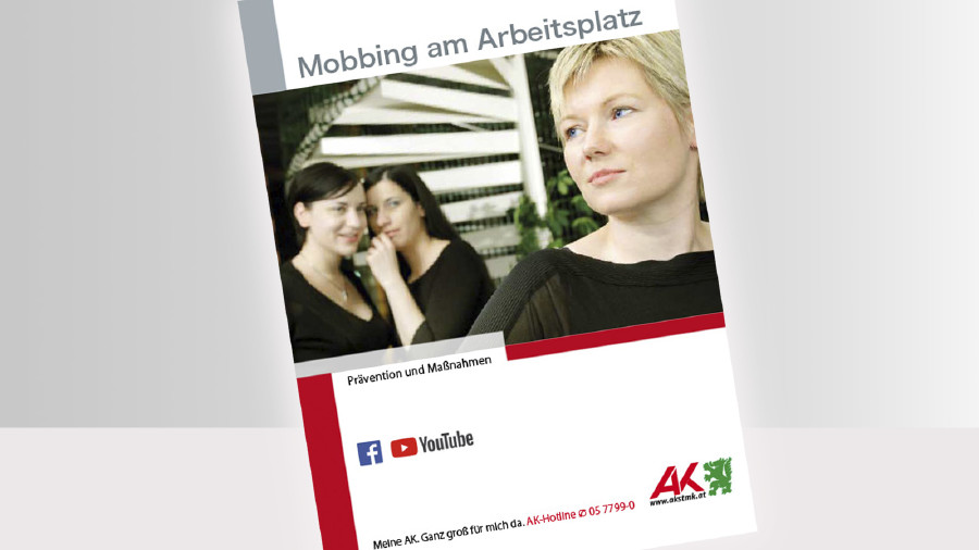 Broschüre Mobbing Titelbild © -, -