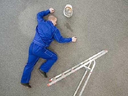 Portrait Arbeitsunfall © Fotolia.com, Artur Golbert