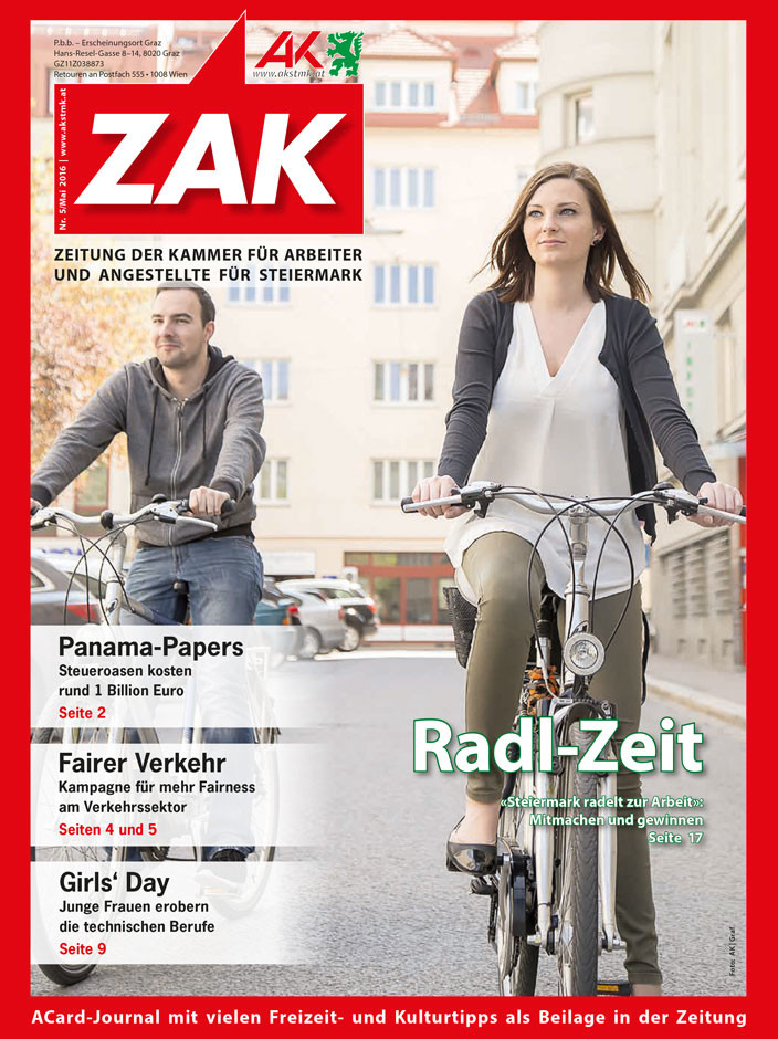 Die neue ZAK im Mai 2016 © Graf, AK Stmk