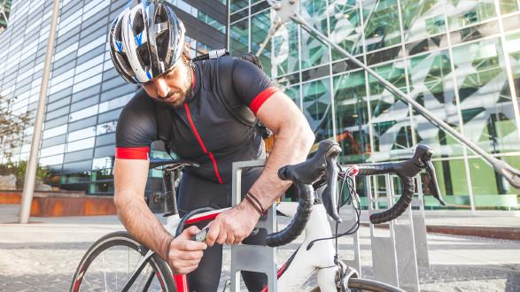 Teure Räder sollten in jedem Fall mit einem Schloss gesichert sein. © william87 - stock.adobe.com, AK Stmk