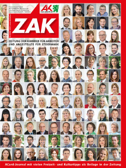 Titelbild der ZAK im Oktober. 2017 © -, AK Stmk