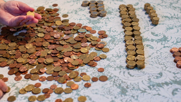 Bei der Münzzählung können Spesen anfallen. © Natascha, Adobe Stock