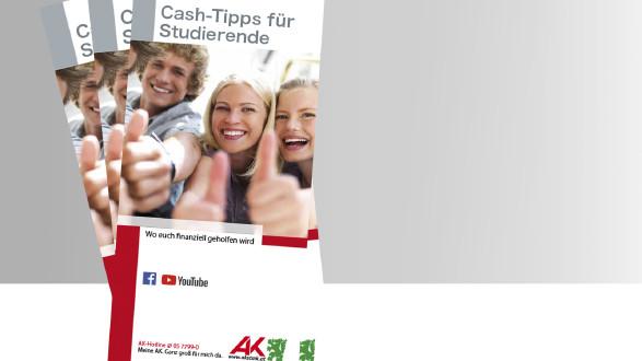 Cash Tipps für Studenten Broschüre Titelbild © -, -