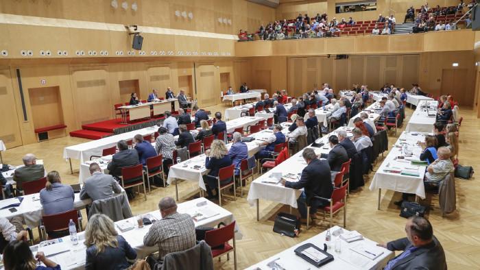 AK-Vollversammlung: Diskussion über die Ausschaltung der Sozialpartnerschaft © Graf-Putz, AK