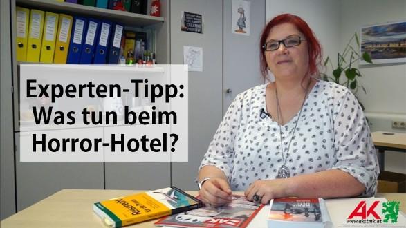 Was tun, wenn das Hotel im Urlaub Horror ist? © -, AK Stmk