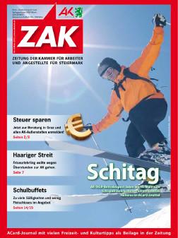 Deckblatt der ZAK im März 2012 © -, AK Stmk