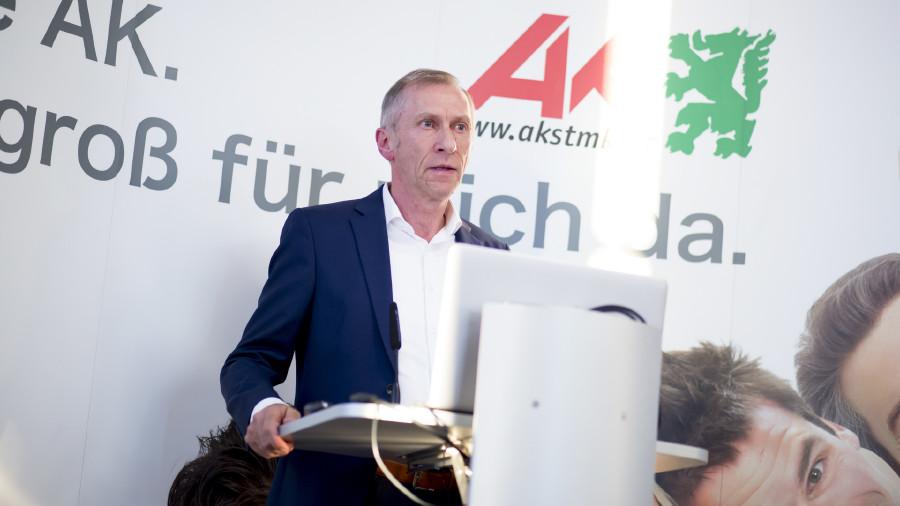 AK-Präsident Josef Pesserl. © Graf-Putz, AK Stmk