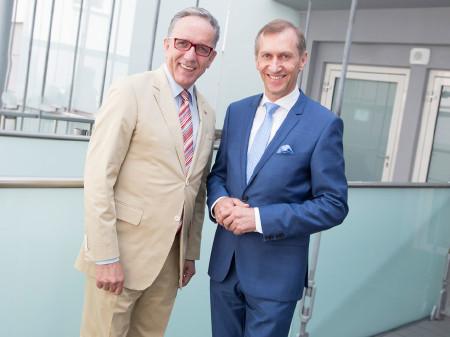 Bundesarbeitskammerpräsident Rudi Kaske mit AK-Präsident Josef Pesserl © Graf, AK Stmk