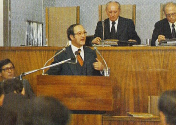 Staatssekretär Dr. Eugen Veselsky referiert über Fragen der Wirtschaft © AK Stmk, AK Stmk