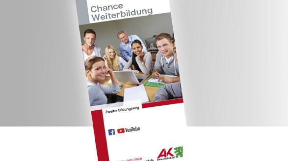 Broschüre Chance Weiterbildung Titelbild © -, -