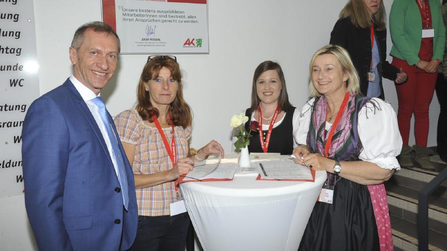 Team der AK Liezen mit Josef Pesserl © Graf-Putz, AK