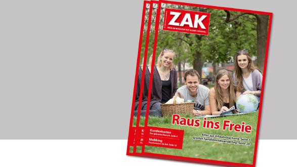 Die neue ZAK im Mai 2019 ist da. © -, AK Stmk