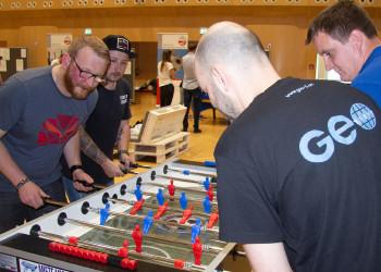 Fotos vom Tischfußball-Cup © AK-ÖGB-Betriebssportverband