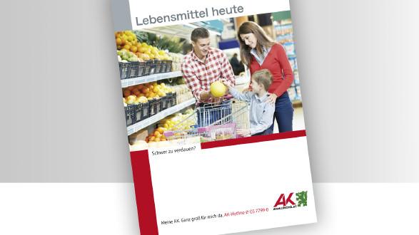 Broschüre Lebensmittel heute © -, -