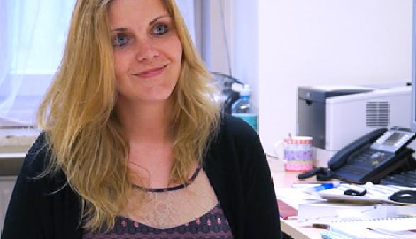 Karin Ladenberger hilft bei Problemen im Sommerjob © -, AK Stmk