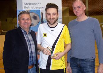 Bester Spieler Florian Lang © AK-ÖGB-Betriebssport, AK Stmk