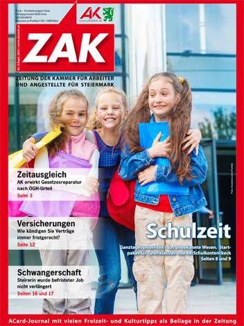 ZAK-Cover Sept 2013 © AK Stmk, AK Stmk