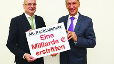 25 Jahre AK-Rechtsschutz © AK, AK