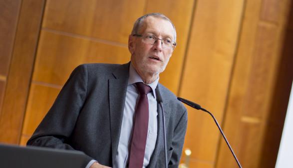 Konrad Paul Liessmann hielt einen Gastvortrag bei der AK.  © Graf-Putz, AK Stmk