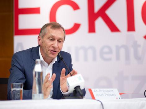 AK-Präsident Josef Pesserl sagte, Bildung sei zukunftsentscheidend. © Graf, AK Stmk