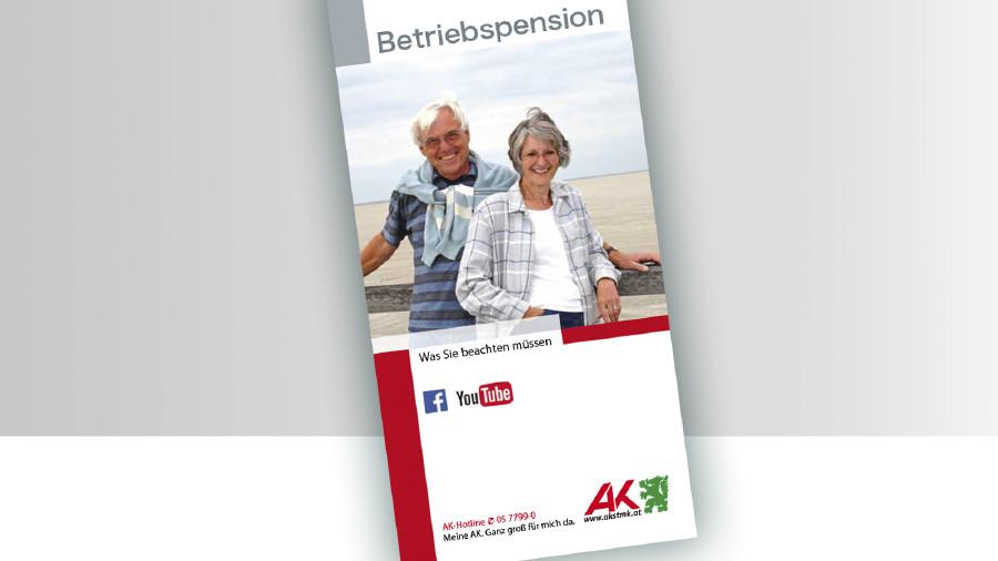 Broschüre Betriebspension © -, -