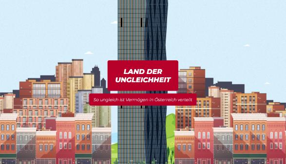 Land der Ungleichheit © AK Wien