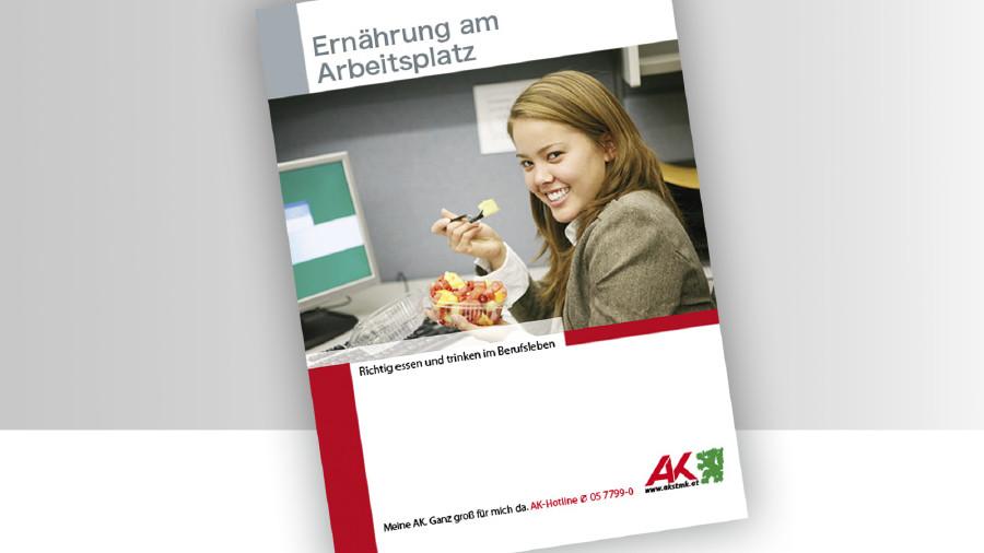 Broschüre Ernährung am Arbeitsplatz © -, -