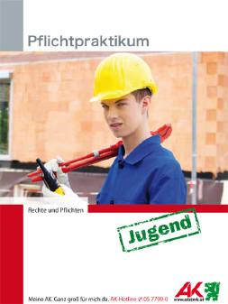 Pflichtpraktikum, Deckblatt, Broschüre, Langfassung © -, AK Stmk
