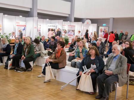Einige Vorträge gab es bei der Pflegemesse in Leoben © Graf, AK Stmk