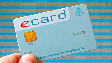 Die e-card in Händen - Der Schlüssel zum Gesundheitssystem! © GKK, GKK