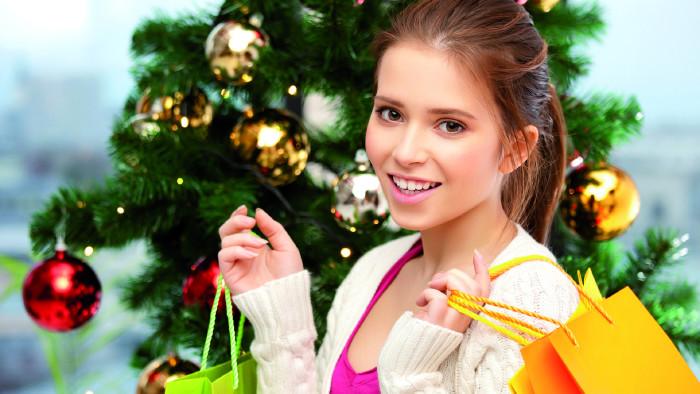 Weihnachten, Einkaufen, Handel © Lev Dolgatsjov , Fotolia