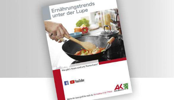 Broschüre Ernährungstipps unter der Lupe © -, -