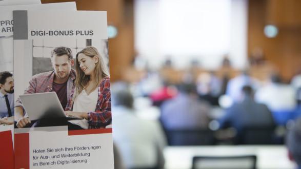 Die Arbeiterkammer hat ein umfangreiches Förderprogramm, um den Mitgliedern die Digitalisierung der Arbeitswelt zu erleichtern. © Sandra Temel, AK Stmk