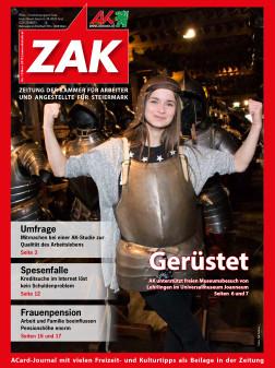 Die ZAK im November 2015 © -, AK Stmk