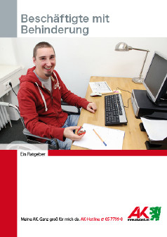 Beschäftigte mit Behinderung, Broschüre © -, AK Stmk