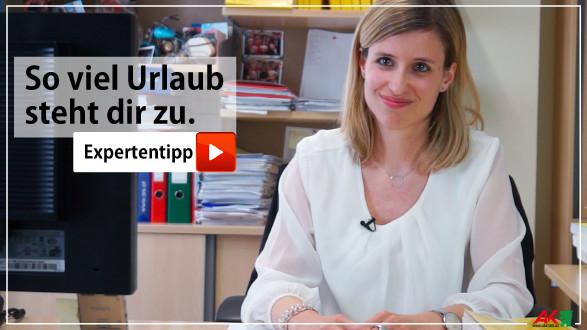 AK-Juristin Barbara Huber erklärt die Eckpunkte zum Urlaubsanspruch. © -, AK Stmk