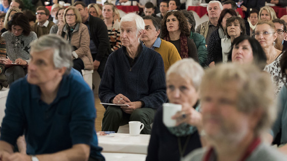 """Mehr als 300 Interessierte kamen am 10. November zum """"Tag der Pflege"""" in die Grazer Kammersäle.  © Graf, AK Stmk"""