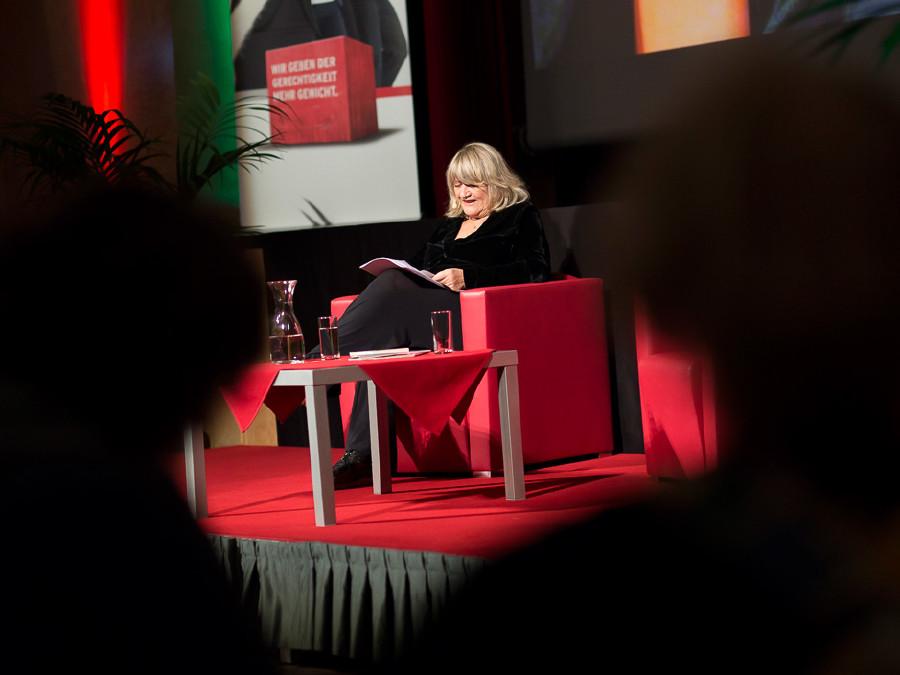 Alice Schwarzer las aus ihrem neuen Buch in den Kammersälen in Graz. © Graf, AK Stmk