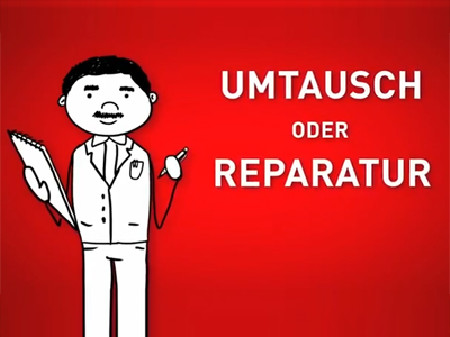 Ware kaputt - Wie reklamiere ich? © News on Video, News on Video