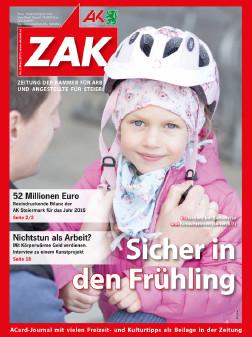 Deckblatt der neuen ZAK im März 2017 © -, AK Stmk