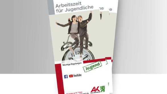 Arbeitszeit für Jugendliche Titelbild Broschüre © -, -