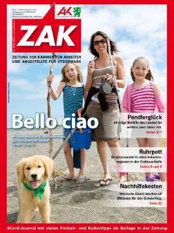 Deckblatt der ZAK im Juli 2012 © -, AK Stmk