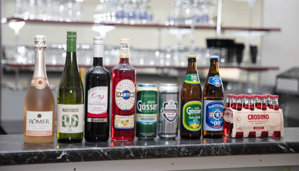 Alkoholfreie Varianten alkoholhaltiger Getränke hat die AK-Marktforschung unter die Lupe genommen. © Temel, AK Stmk