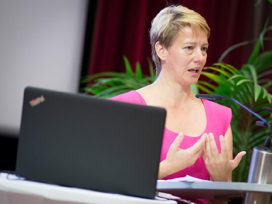 Dr. MMag. Elisabeth Rappold von der Gesundheit Österreich GmbH © Graf, AK Stmk