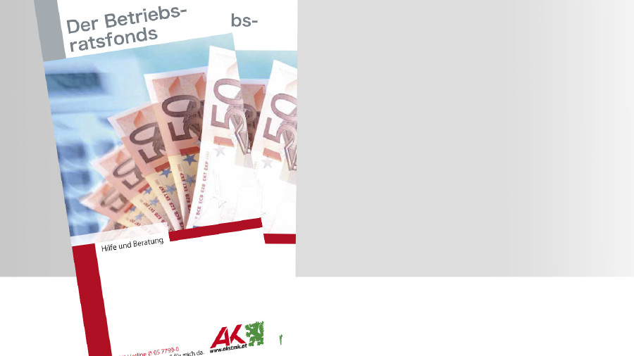 Broschüre Titelbild Betriebsratsfonds © -, -