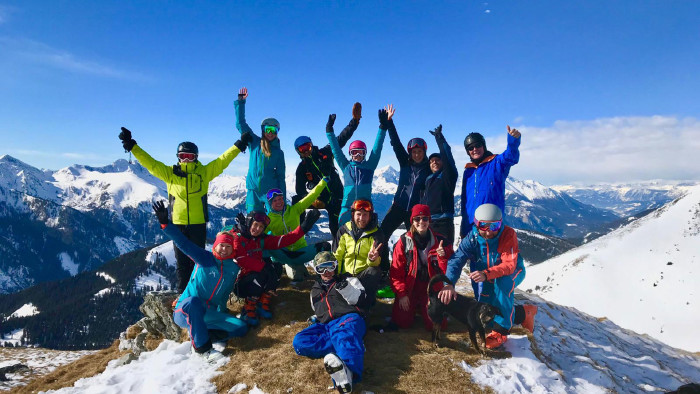 Erste AK-Skitour auf den Griesmoarkogel in Liesing. © AK-ÖGB-Betriebssport, AK Stmk
