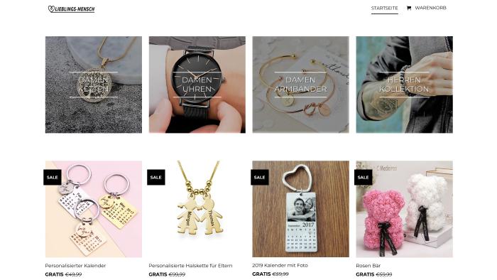 Beim Kauf von kostenlosen Produkten, wie hier auf lieblings- mensch.com, kommen meist hohe Versandkosten dazu. © AK Stmk, AK Stmk